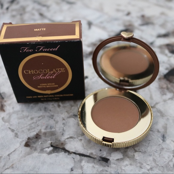 20b59e28b108 Used TOO FACED Chocolate Soleil Matte Bronzer Mini